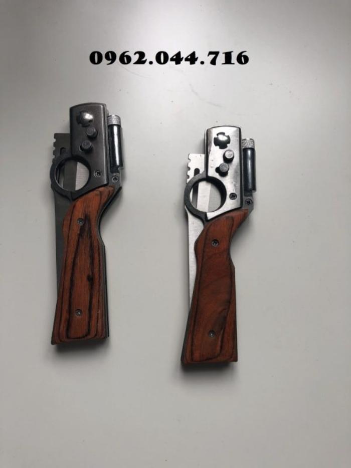 Cách sử dụng dao bấm cán gỗ Sharp (AK) không mấy phức tạp