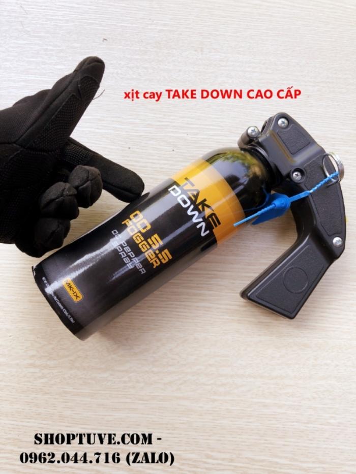 Xịt cay Take Down cao cấp mang đến sự an toàn tuyệt đối cho người sử dụng