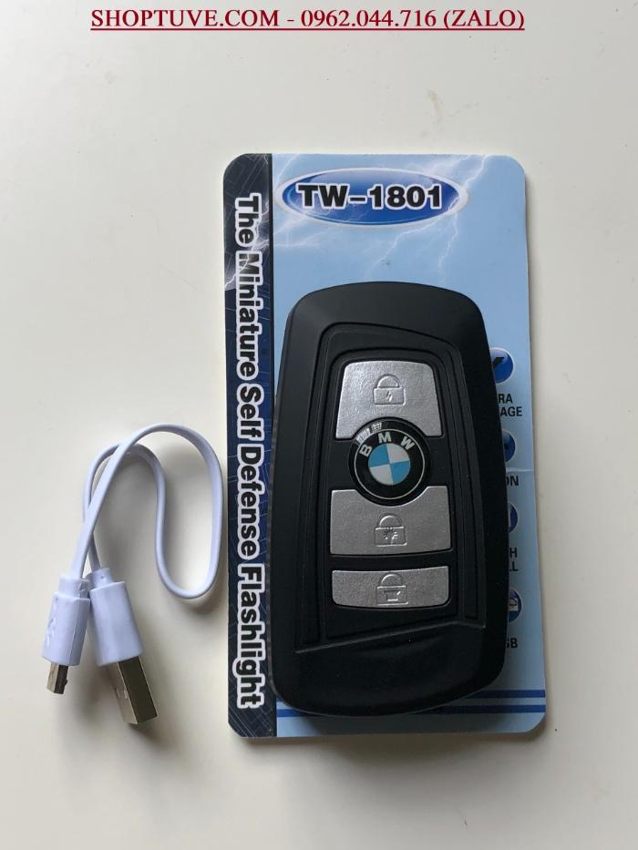 Móc khóa chích điện BMW 1801 chính là phiên bản cao cấp hơn