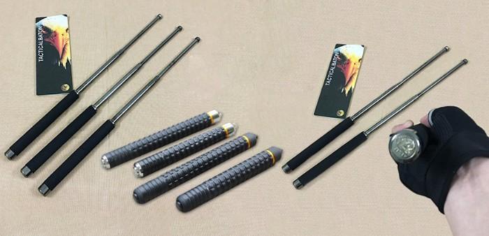 Những chiếc gậy 3 khúc thường được gia công rất kỹ lưỡng